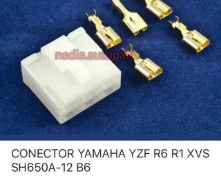 Conector regulador yamaha