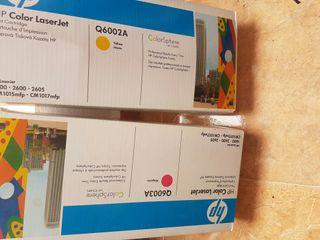 cartucho toner HP de color Laserjet color magenta