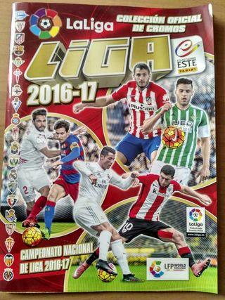 Album colección oficial de cromos liga 2016-17