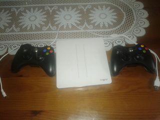 Mando de la Xbox 360 más cargador de mando