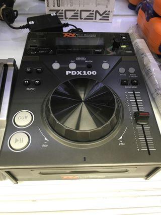 Lector de cd power dinámics PDx 100