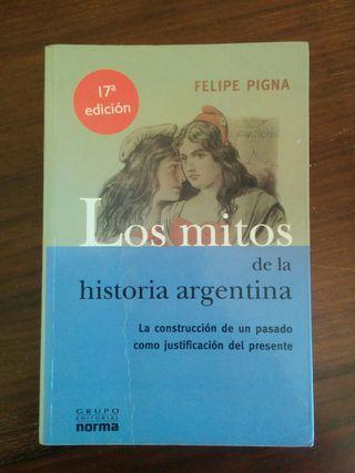 Libro Los mitos de la historia argentina 1, 2 y 3