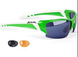 Gafas Spiuk verde fluor