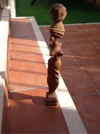 Talla , figura de madera