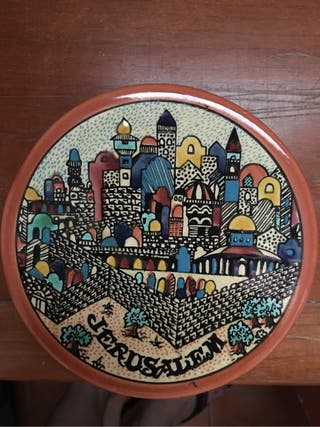 Souvenir traído de Jerusalén