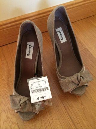 Zapatos tacon nuevos T.37