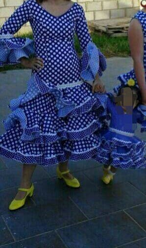 Traje flamenca.