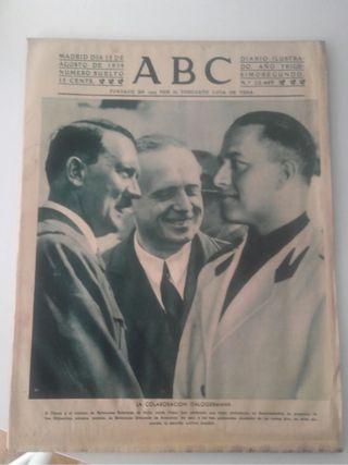 abc antiguo 1939 hitler portad