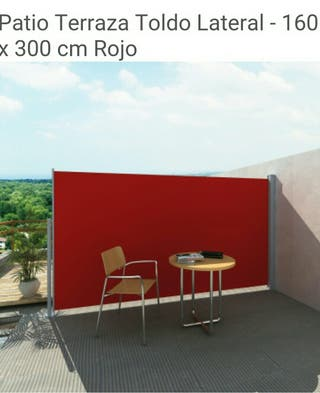 toldo lateral extensible 160×300 o 180x300 colores