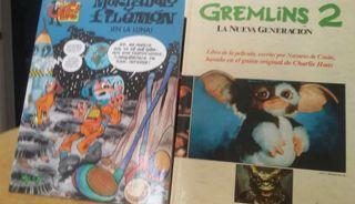 COMIC MORTADELO Y FILEMON + LIBRO GREMLINS 2