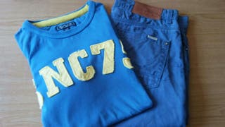 Pantalón corto con camiseta