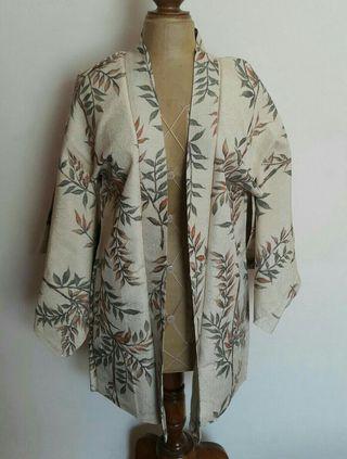 Kimono corto vintage seda japonesa