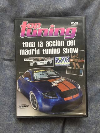 Dvd madrid tuning show 2008