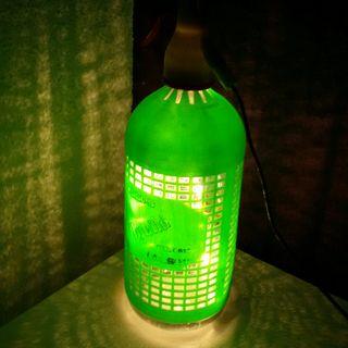 Lámpara Sifón vintage
