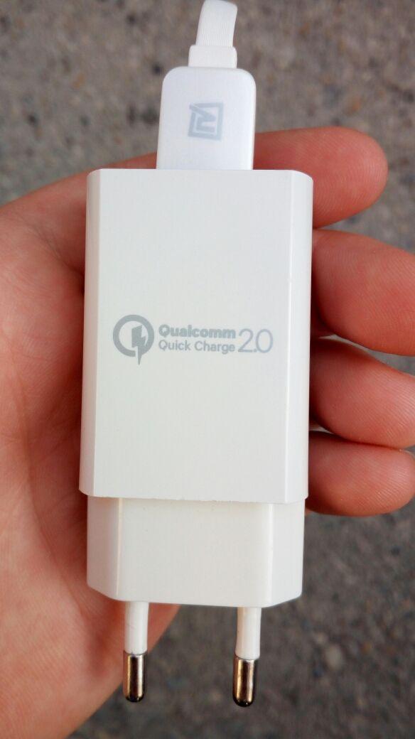 Cargador móvil Qualcomm
