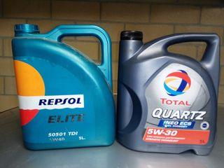 aceite motor total 5w30 Repsol 5w40