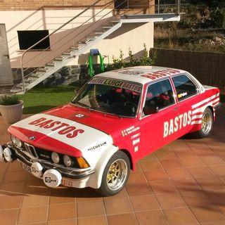 BMW 323i COUPE NACIONAL REGULARIDAD 1985