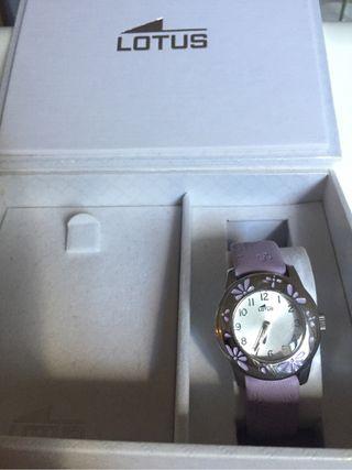 Reloj niña lotus