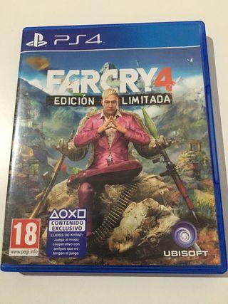 Farcry4 ps4 Nuevo!!!