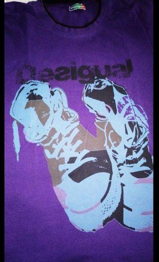 Camiseta DESIGUAL ® Ed.Lim Converse Chuck Taylor