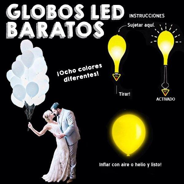 Globos LED baratos