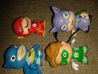 figuras dc comics super héroes