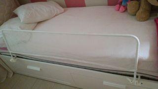 barra cama niño