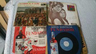 Discos LP antiguos