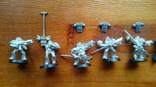 caballeros grises warhammer 40000
