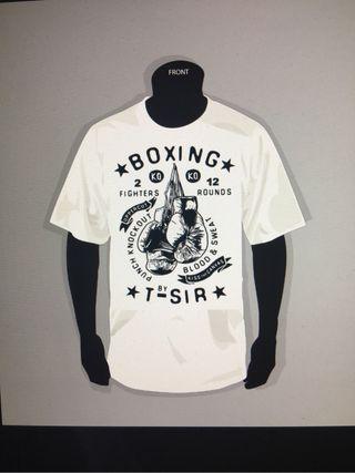 Camiseta boxeo