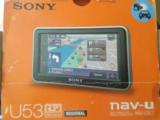 Gps coche SONY nav-u NV-U53