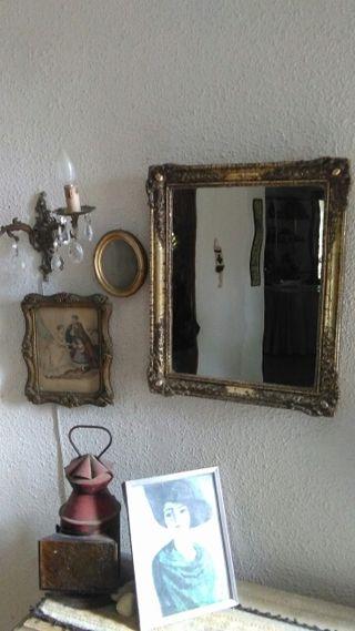 Espejo pan de oro VINTANGE