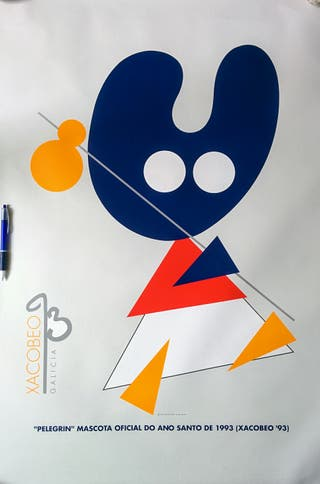 Carteles publicitarios Xacobeo 93