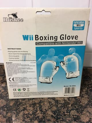 Wii boxing glove