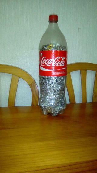 chapas de latas de refrescos