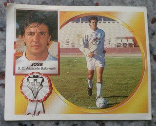 Cromo Jose del Albacete 94-95.