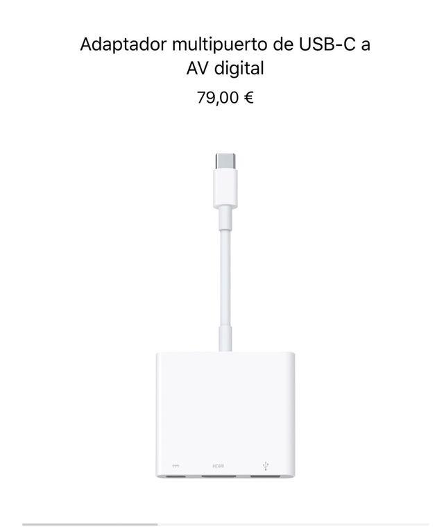 Adaptador de USB-C HDMI apple