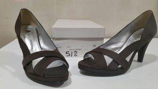 zapatos tacon vestir 39