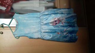 Vestido de Frozen.