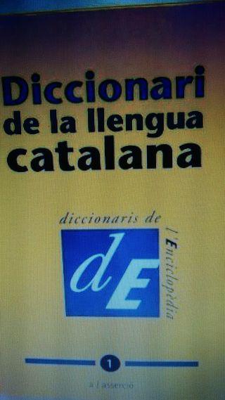 diccionari de la llengua catalana n1