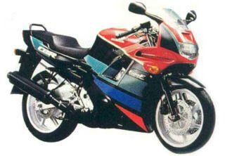 Despiece cbr 600F año 1991
