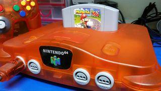 Nintendo 64 Naranja impecable