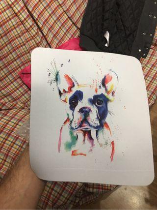 Alfombrilla bulldog