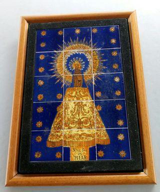 Cuadro Virgen del Pilar