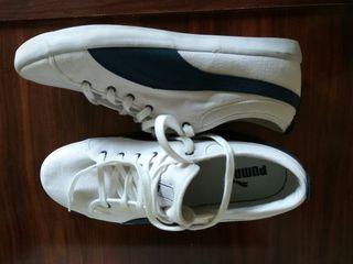 Zapatillas puma de tela N°43