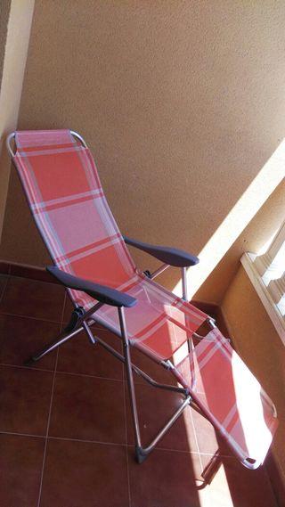 hamaca silla playa plegable