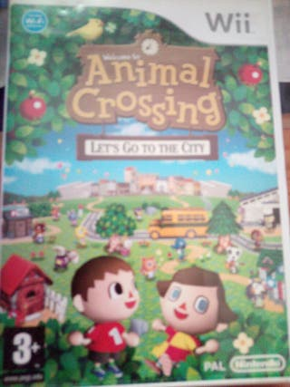 animal crossing para wii