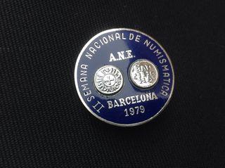 Insignia Plata 1979 Numismatica