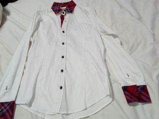 Camisa blanca unisex M'RODE