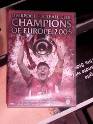 Dvd champion liverpool 2005
